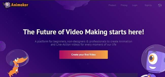 Animaker Free 2D Animation Software