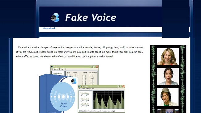 Fake Voice Software