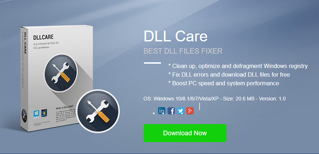 DLL Care Free DLL File Fixer
