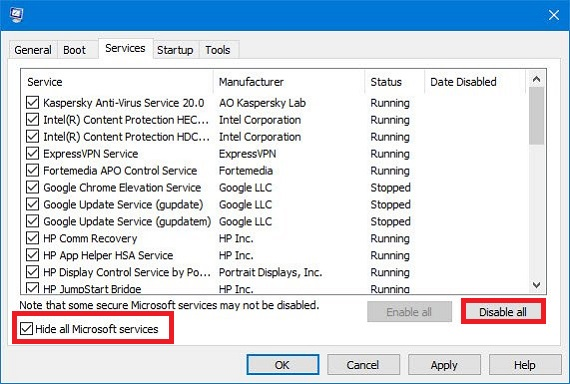 Start the Windows in Clean Boot State to remove the 0xc0000142 error
