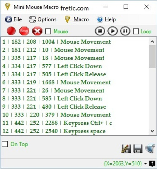 Mini mouse macro Mouse Mover Software
