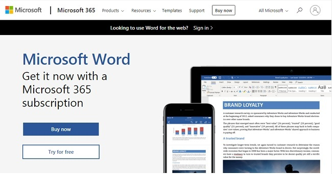 Microsoft Word Best Book Writing Software