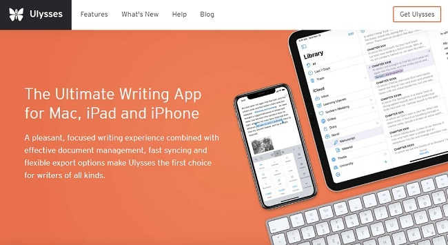 Ulysses Best Book Writing Software