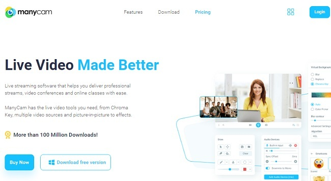 ManyCam Best Webcam Software to Use