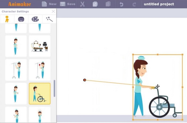 Animaker whiteboard animation software